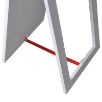 vidaXL.co.uk | Free Standing Mirror Full Length White
