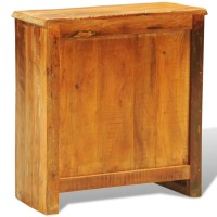 Reclaimed Wood Cabinet with Two Doors Vintage Antique ...