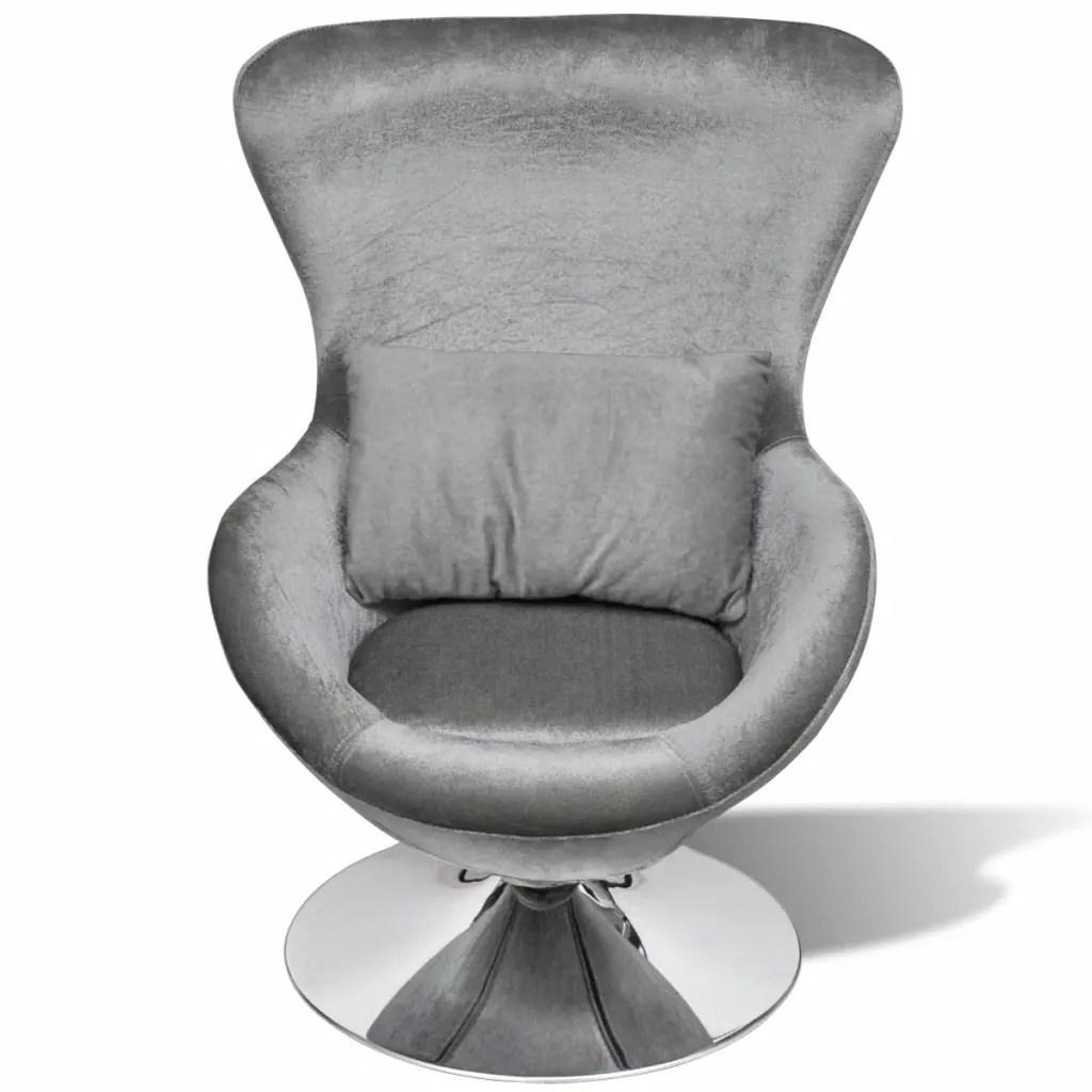 egg chair cushion diy folding adirondack plans small silver swivel with vidaxl au