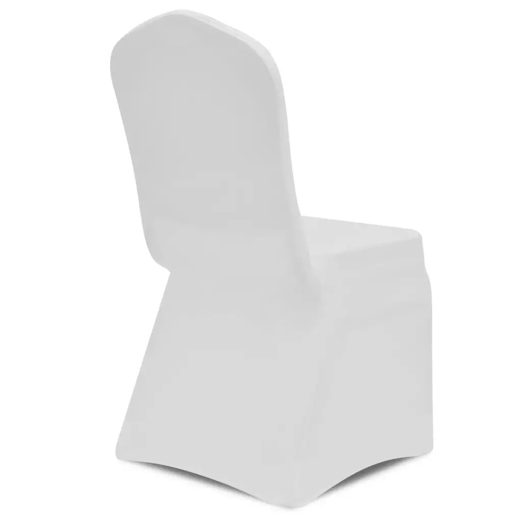 stretch chair covers australia brown chaise lounge vidaxl co uk cover white 50 pcs