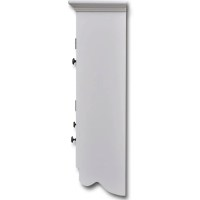 vidaXL.co.uk | White Wooden Kitchen Wall Cabinet with ...
