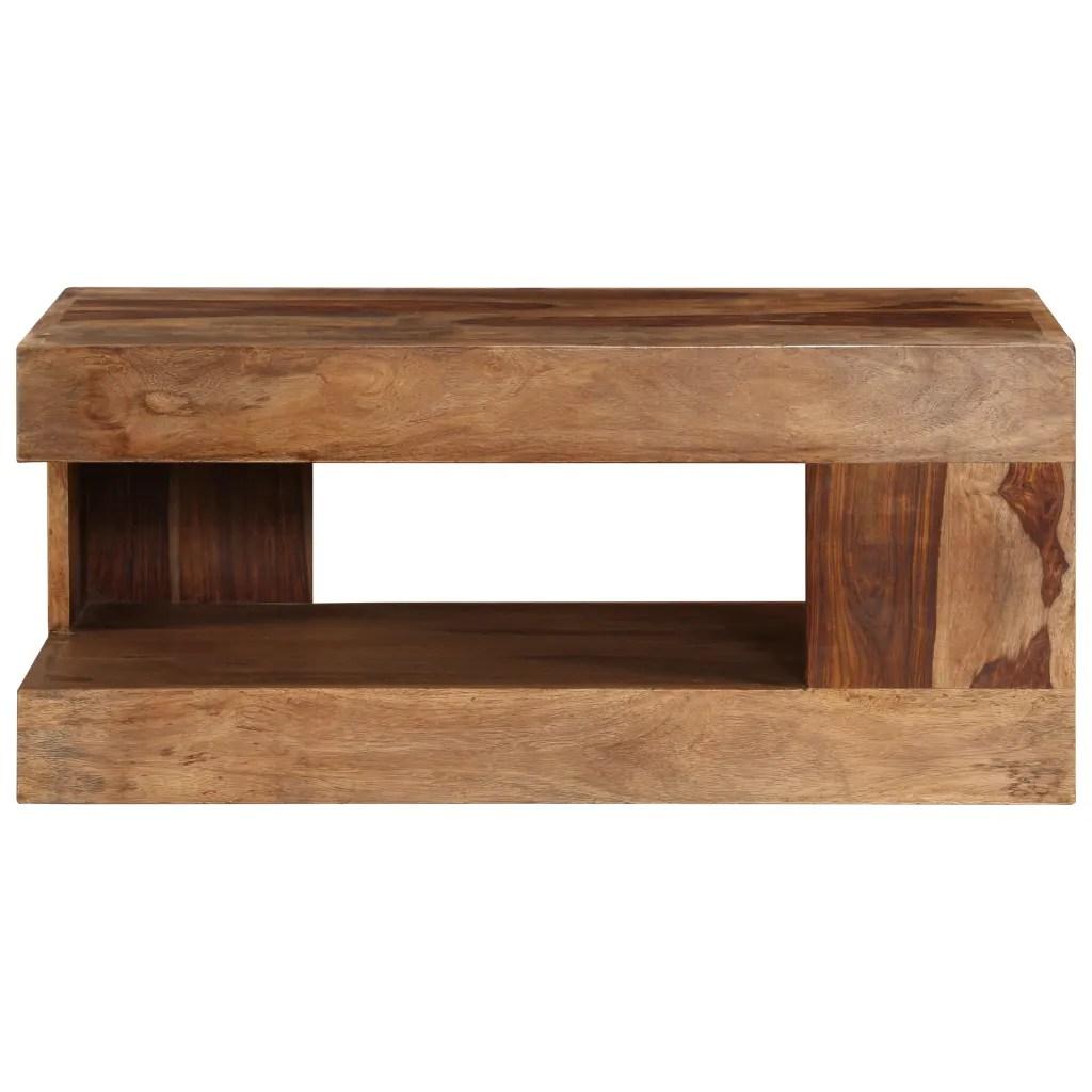 Sheesham Solid Wood Coffee Table  vidaXLcom