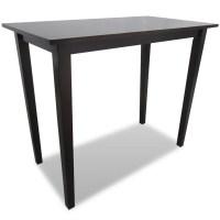 vidaXL.co.uk | Brown Wooden Bar Table
