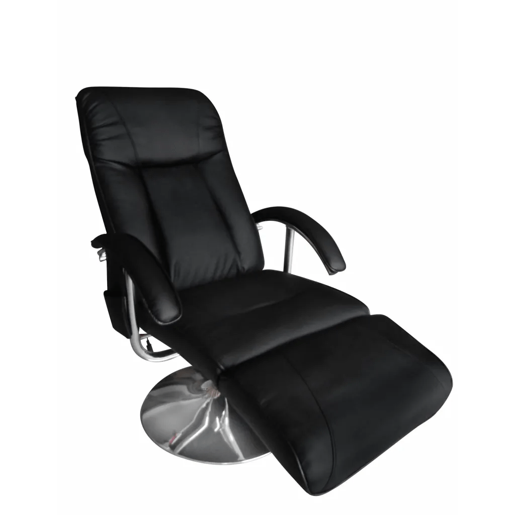 Tv Chairs Vidaxl Co Uk Black Artificial Leather Electric Tv