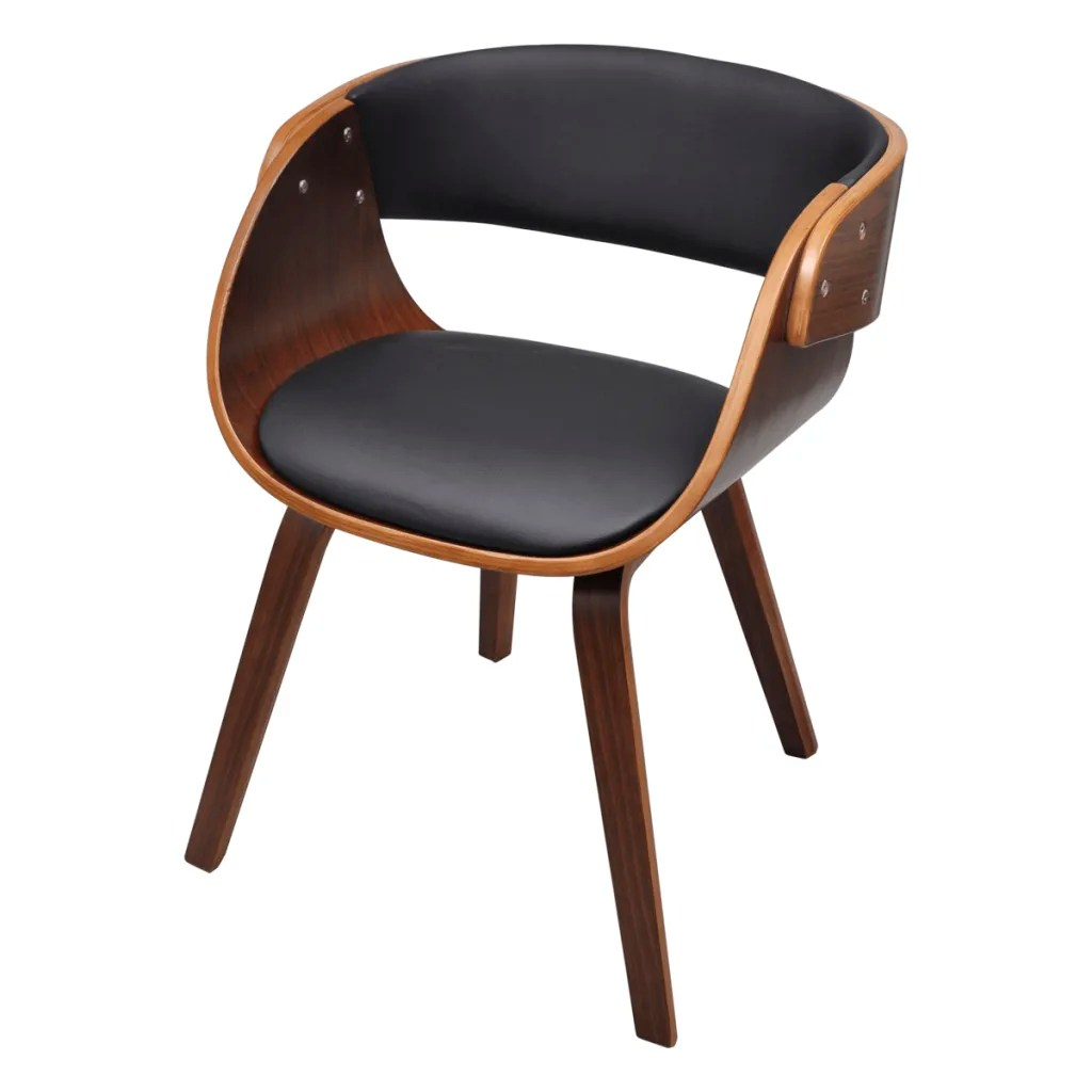 vidaXLcouk  Dining Chair with Padded Bentwood Seat