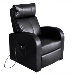 Electric Chair Heater Design Within Reach Office Black Massage With Remote Control Vidaxl