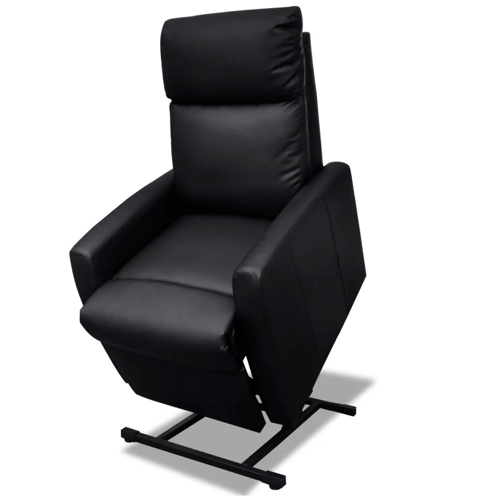 Tv Chairs 2 Position Electric Tv Recliner Lift Chair Black Vidaxl