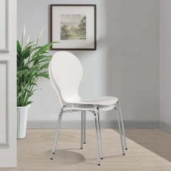 Stacking Dining Chairs Uk Plastic Adirondack Canadian Tire Vidaxl Co 2 Stackable Butterfly White
