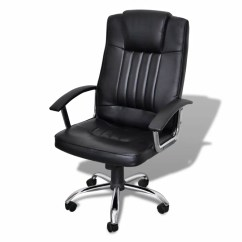 Desk Chair Adjustable Posture Definition Luxury Office Height Swivel Seat Black