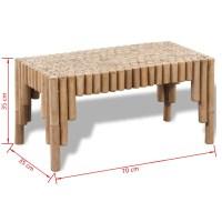 vidaXL.co.uk | Bamboo Coffee Table