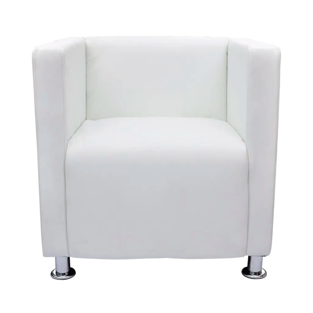 modern armchair design leather chair and ottoman set white artificial club tub