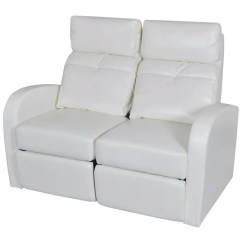 Reclining Two Seat Sofa Disney Flip Open Frozen Artificial Leather Home Cinema Recliner 2
