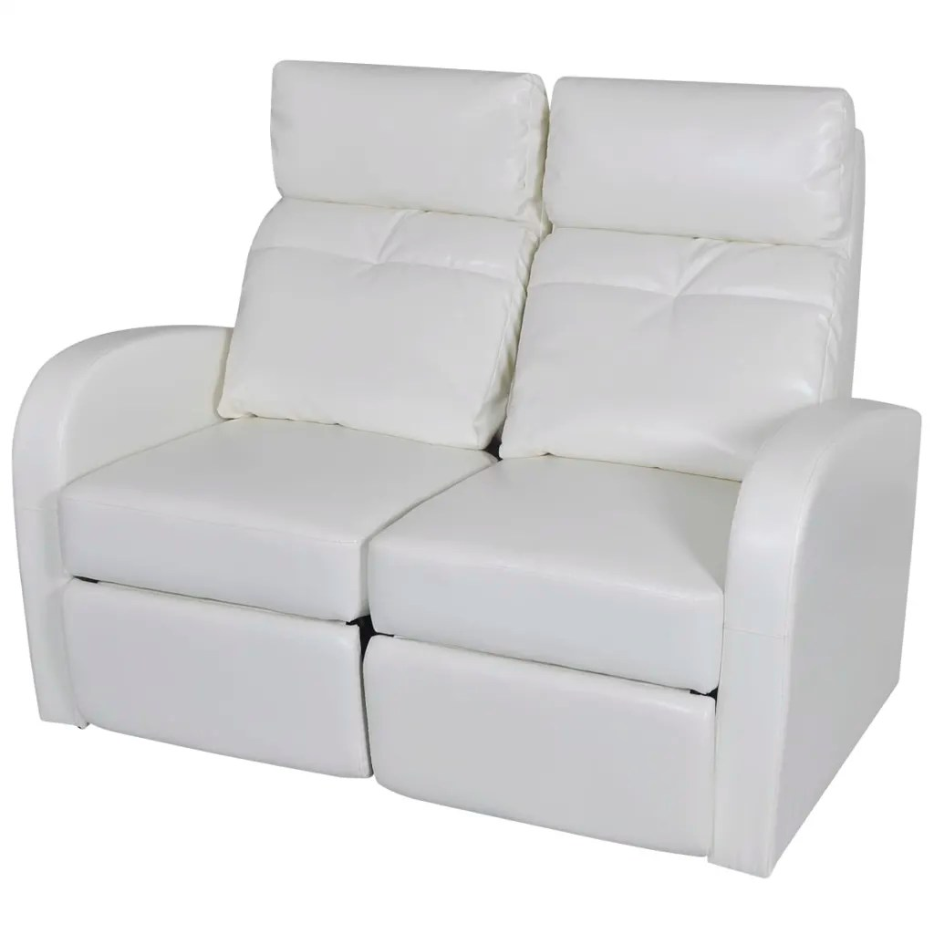 recliner 2 seater sofas leather remote control pocket for sofa artificial home cinema reclining