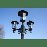 vidaXL.co.uk   Preston Garden Light Post - height 215 cm