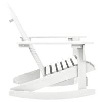 vidaXL.co.uk | Wood Rocking Chair White