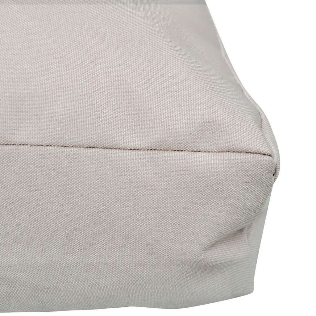 upholstering a chair seat cushion invacare shower upholstered 80 x 10 cm sand white www