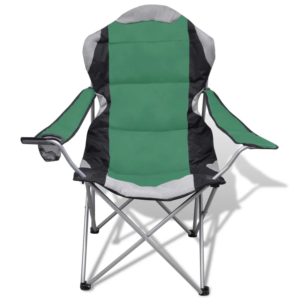 folding chair set how to reupholster rocking cushions 2 pcs camping outdoor chairs xxl bag