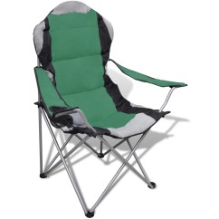 Folding Outdoor Camping Chairs Garden Swing Chair With Stand Set 2 Pcs Xxl Bag