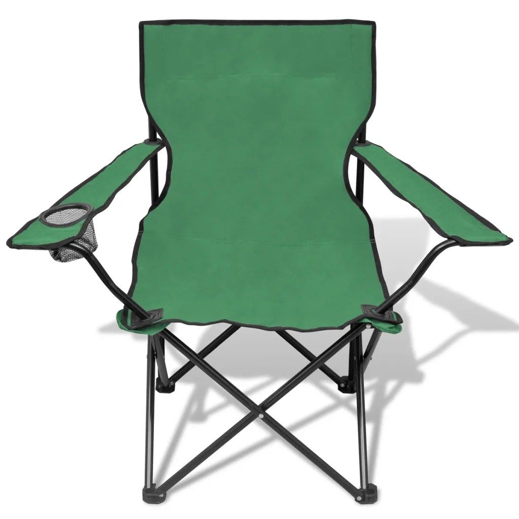 Outdoor Chair Set Folding Chair Set 2 Pcs Camping Outdoor Chairs With Bag