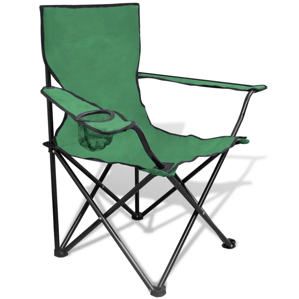 Outdoor Folding Bag Chairs Folding Chair Set 2 Pcs Camping Outdoor Chairs With Bag