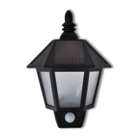 vidaXL.co.uk | Solar Wall Lamp with Motion Sensor