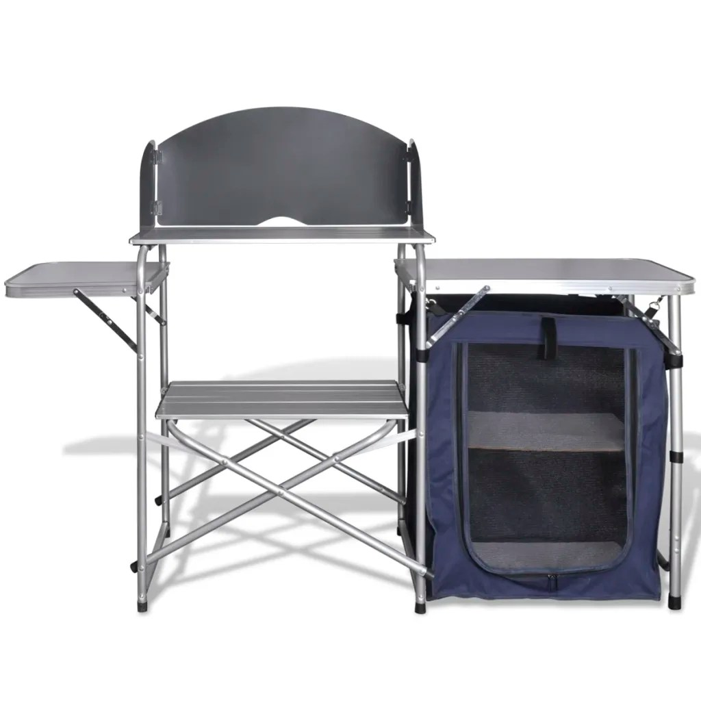 vidaXLcouk  Foldable Camping Kitchen Unit with