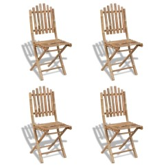 Bamboo Dining Chairs Sydney Covers For Ikea Jennylund Chair Foldable Outdoor Set 1 Table 43 4