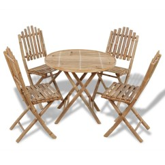 Bamboo Outdoor Chairs Plastic Chair Design With Price Foldable Dining Set 1 Table 43 4