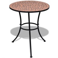 vidaXL.co.uk | Mosaic Table 60 cm Terracotta