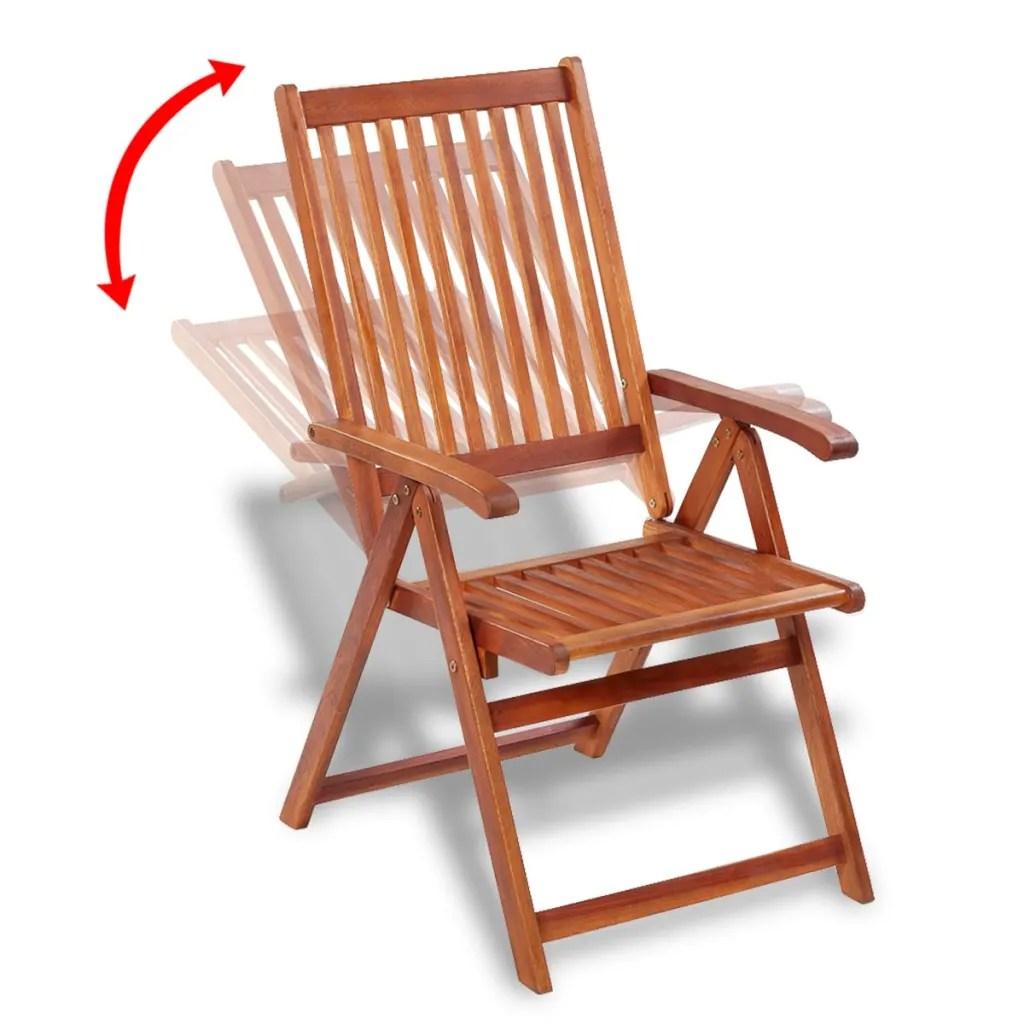 vidaXLcouk  vidaXL Outdoor Dining Chair 2 pcs Acacia Wood