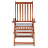 2Pcs Garden Folding Reclining Chair Hardwood Recliner ...