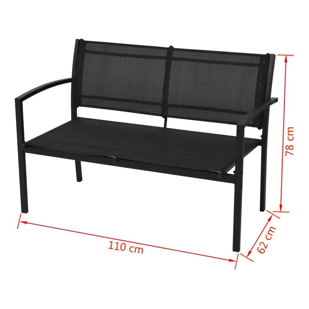 Articoli per vidaXL Set mobili da giardino con panca 4