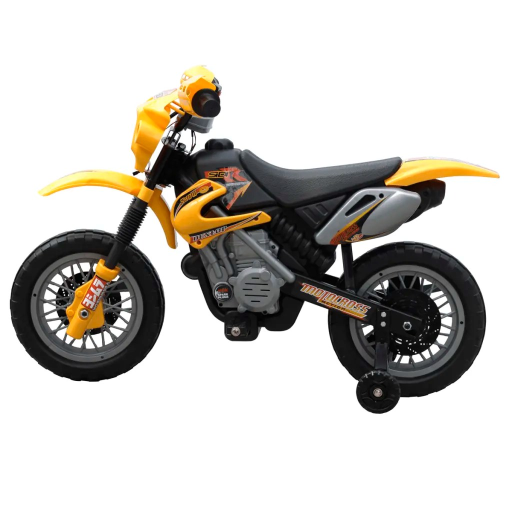 Kids Electric Yellow Motorbike  Wwwvidaxlcomau