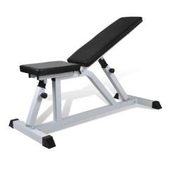 Gym Bench Press Chair Executive Chairman Fitness Workout Weight Vidaxl