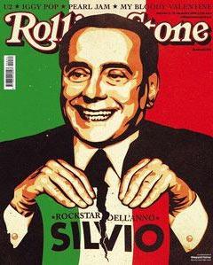Berlusconi su Rolling Stones - rockstar dell'anno