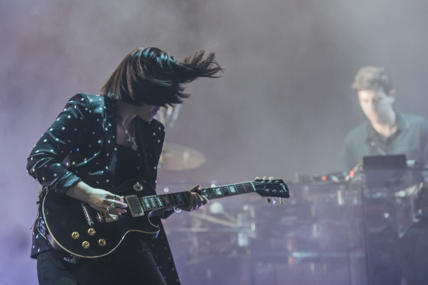 The xx no Lollapalooza 2017