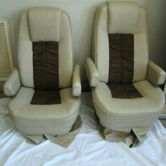 Rv Captain Chair Seat Covers Target Beach Chairs Sale Used Parts Flexsteel For
