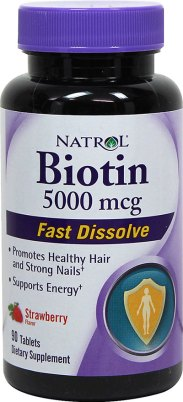 Natrol Biotin hair vitamins