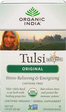 Organic India Organic Tulsi Holy Basil Original Tea-18 Tea Bags