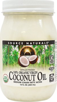 Source Naturals 100% Organic Extra Virgin Coconut Oil
