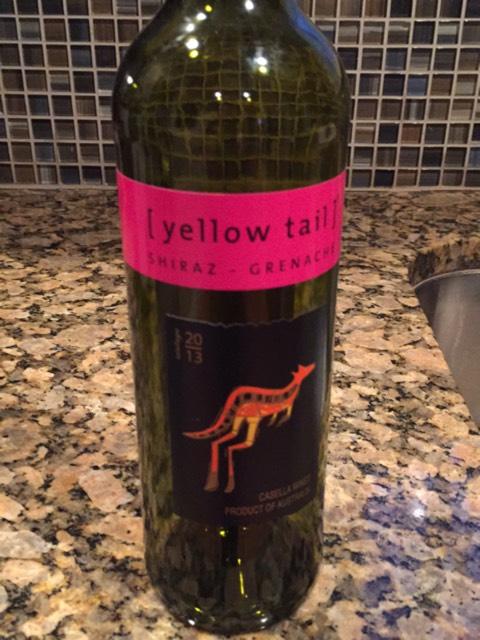 Yellow Tail Shiraz Grenache 2016 Wine Info