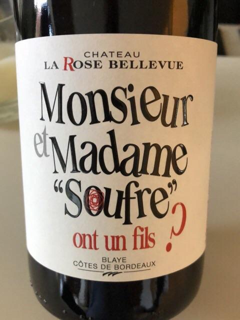 Monsieur Et Madame Ont Un Fils : monsieur, madame, Château, Bellevue, Monsieur, Madame, 'Souffre', Vivino
