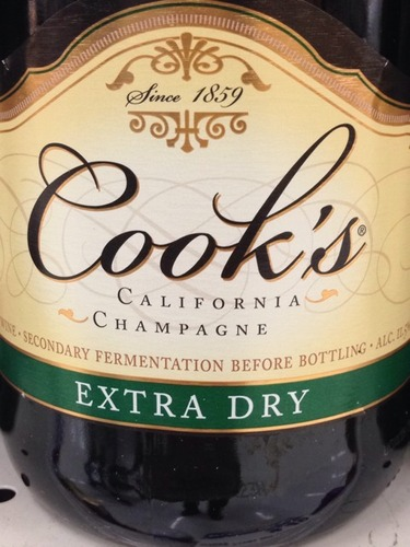 Champagne Cooks Extra Dry Wine Info