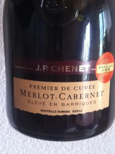 JP Chenet Premier De Cuve lev En Barriques Merlot  Cabernet 2007  Wine Info