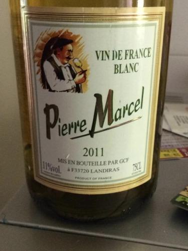Pierre Marcel Vin De France Blanc 2011 Wine Info