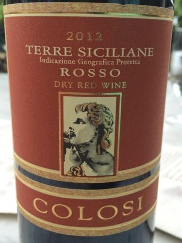 Colosi Cariddi Rosso 2012  Wine Info