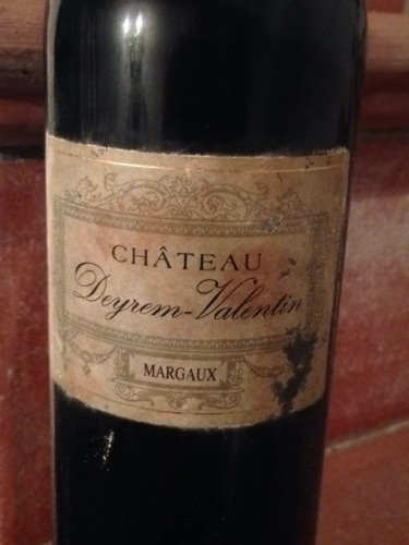 Chteau Deyrem Valentin Margaux 1998 Wine Info