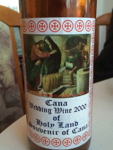 Chteau Cana Wedding Wine Of Holy Land Souvenir Of Cana 2000  Wine Info
