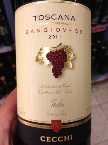 Cecchi Sangiovese di Toscana 2011  Wine Info