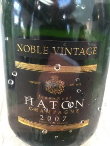Haton  Fils Champagne Noble Vintage 2007  Wine Info